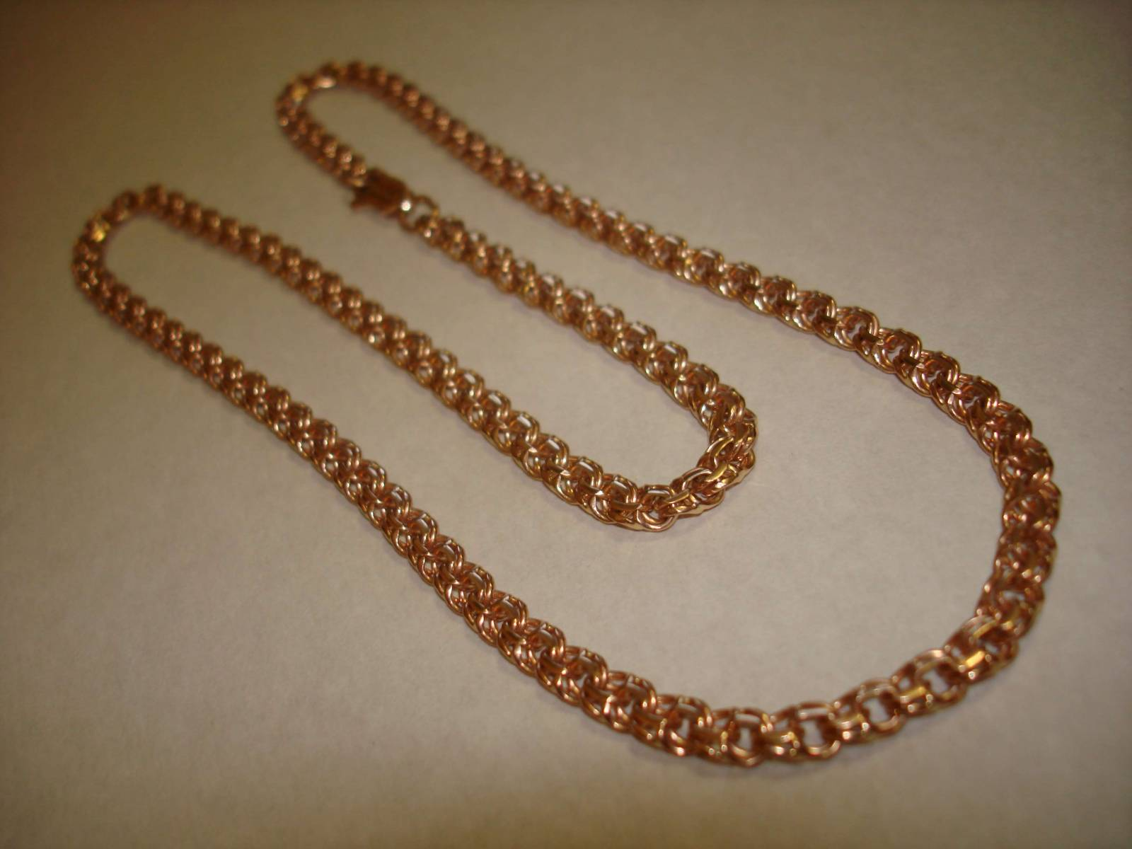 Золотая цепь плетение бисмарк фото 7